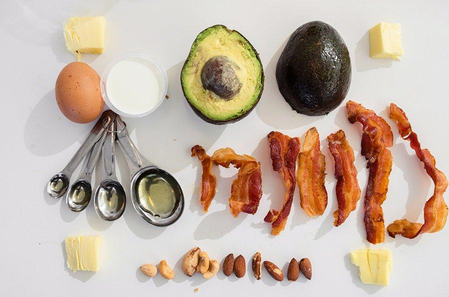 alimentos saludables en la dieta cetgogenica
