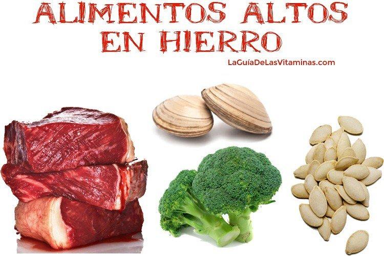 19 Alimentos Ricos en Hierro Para Combatir la Anemia Ferropénica   La Guía de las Vitaminas