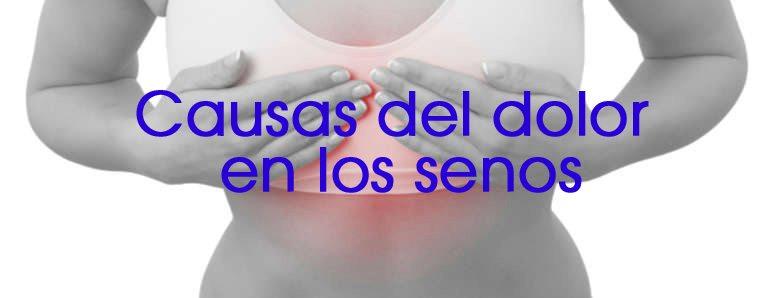causas del dolor de los senos 1