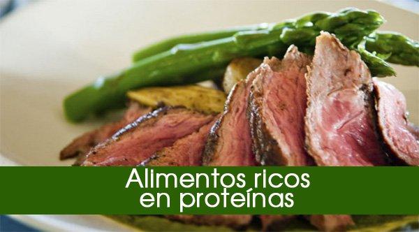 Los 40 Alimentos Más Ricos En Proteína Para Comer Sano Y Adelgazar