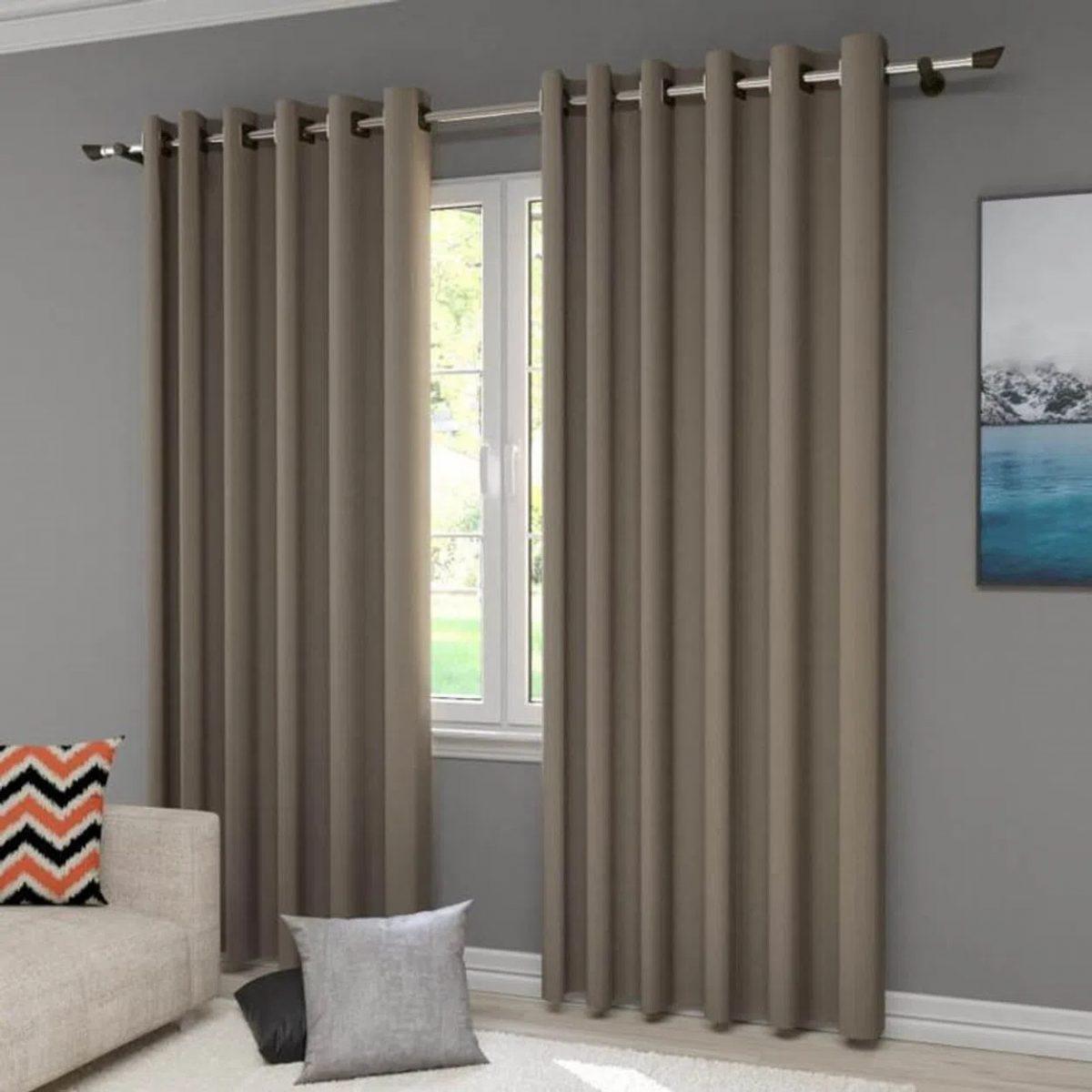 imagem sala com cortina blecaute
